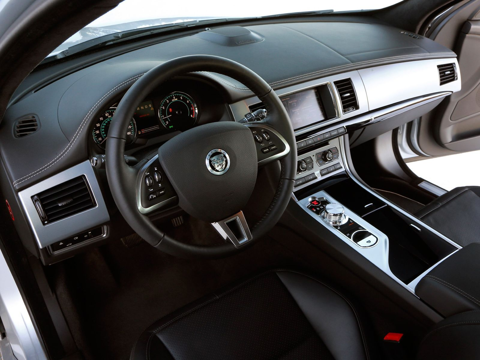 Jaguar Xf Interior 2011