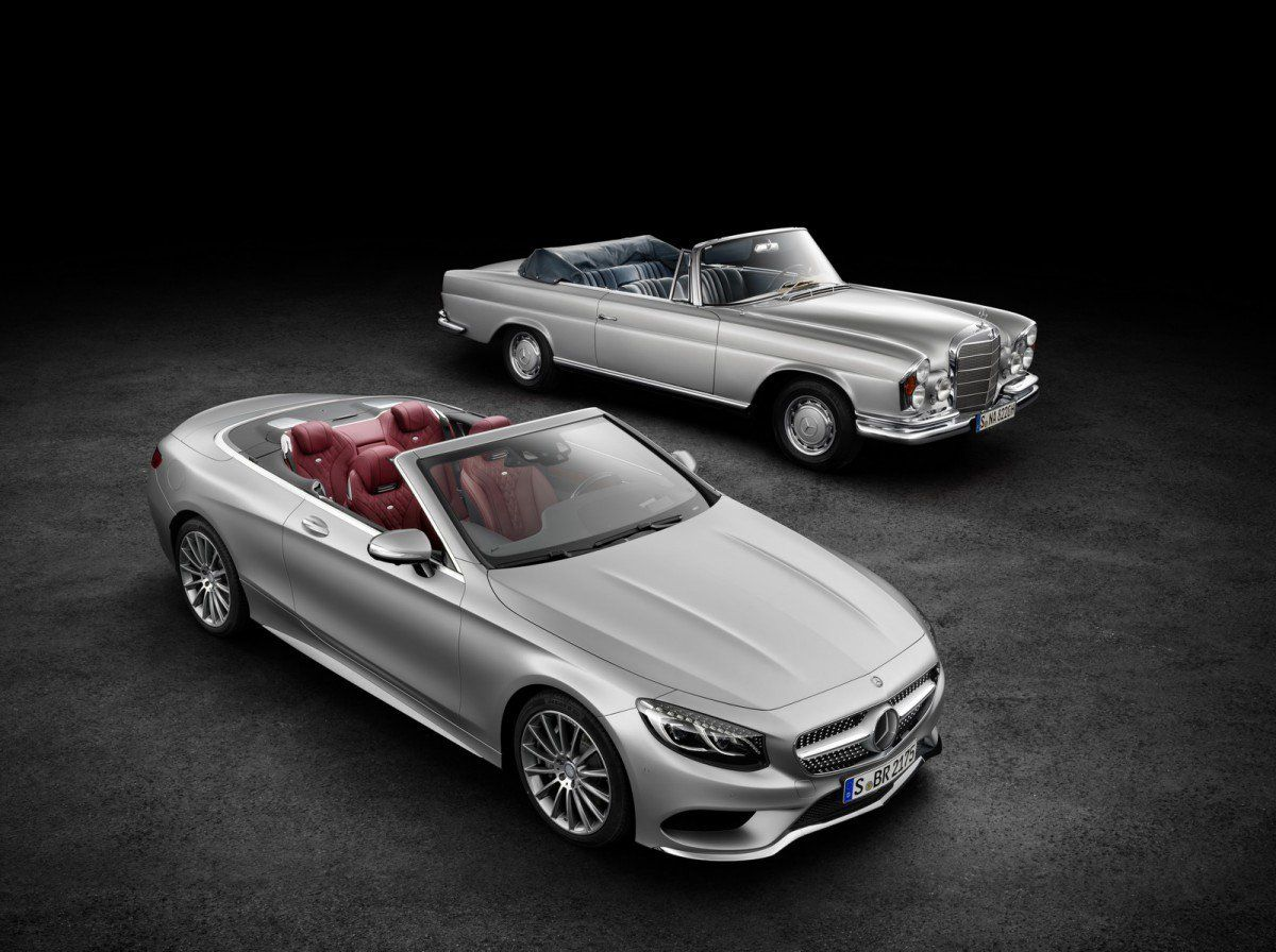 All New 2017 Mercedes Benz S Cl Cabriolet Is The Epitome Of Open Top Luxury