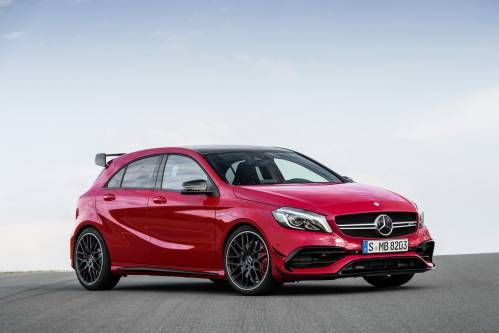 Mercedes-Benz Gives Current A-Class Its First Refresh