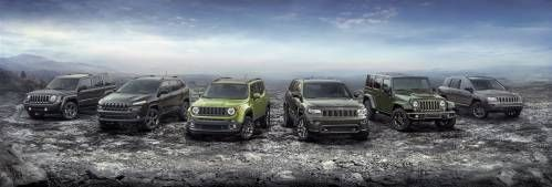 Jeep Releases Full Lineup Of 75th Anniversary Special Edition Models