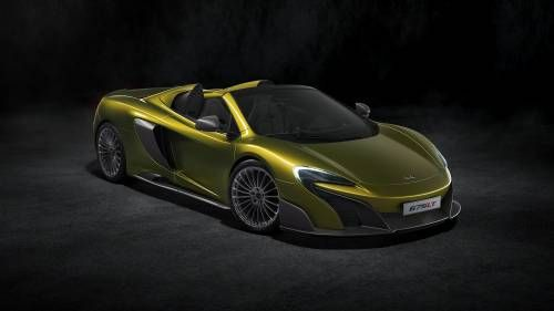 McLaren Drops The Top On Limited Edition 675LT Spider