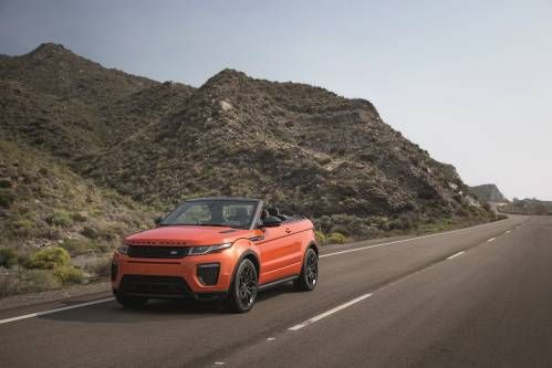 Land Rover Chops The Roof Off the Range Rover Evoque