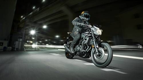2016 Yamaha MT-03 revealed.  Tech specs and photo gallery