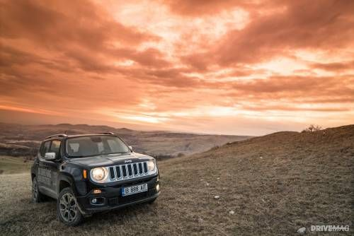 2015 Jeep Renegade Limited 2.0 M-Jet Test Drive