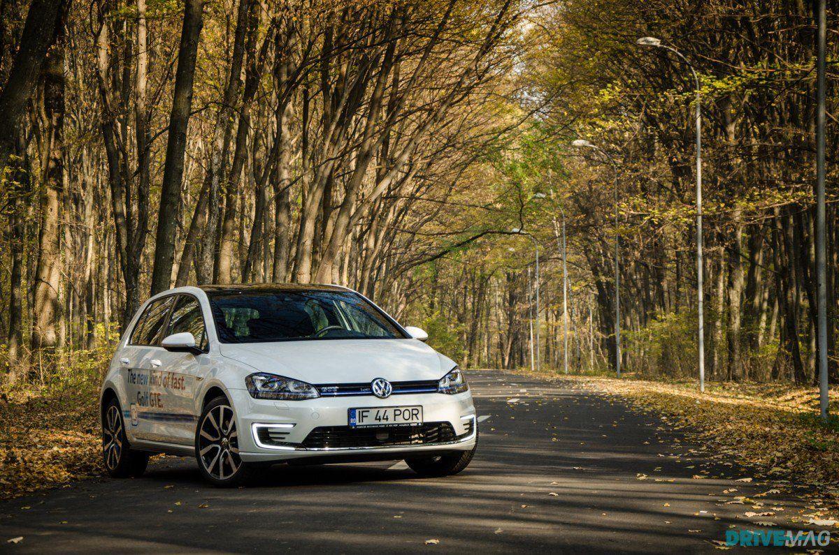 Golf Gte Test >> 2015 Volkswagen Golf Gte Plug In Hybrid Test Drive