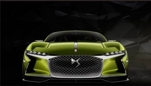 Citroen Previews Sporty, Electric Future With E-Tense Concept In Geneva