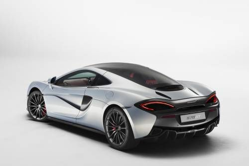 McLaren 570GT with Opening Rear Hatch Is the Brand's Most Luxurious and Refined Model Yet