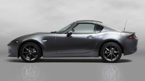 Mazda MX-5 Gets Retractable Hard Top, RF Designation in New York