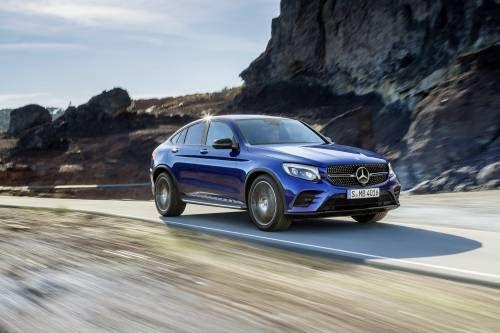 Mercedes' All-New GLC Coupé Targets BMW's X4