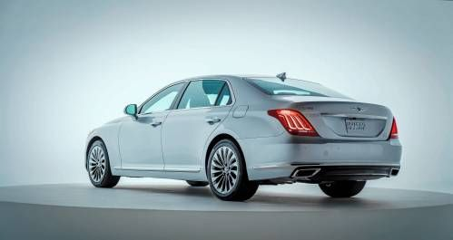 Hyundai Aims Above BMW's 5-Series With New Genesis G90 / EQ900 Luxury Sedan