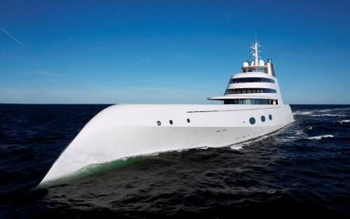 Motor Yacht A is for Sale