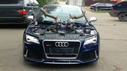 Audi RS7: This Is How Hades' Car Would Look Like