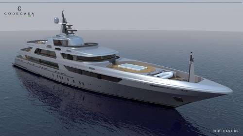 Codecasa 65 Superyacht Concept Revealed