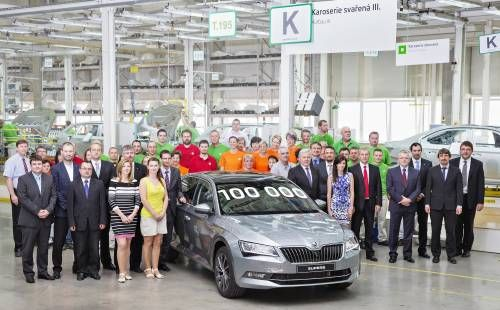 Skoda Has Already Built 100,000 Units of the Latest Superb
