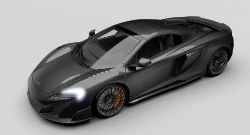 McLaren Builds Limited Edition Carbon Fiber Bodied 675LT Spiders