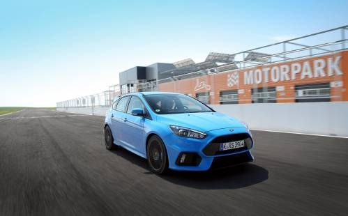 2016 Ford Focus RS Test Drive. Approved by Ken Block