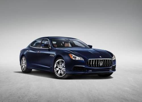 2017 Maserati Quattroporte Gains Subtle Visual Tweaks