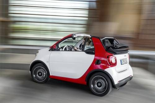 2017 Smart ForTwo Cabrio Promises Open Air Glee for $18,900