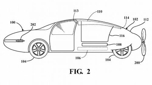Toyota Files Patent for a Flying Car with Shapeshifting Body
