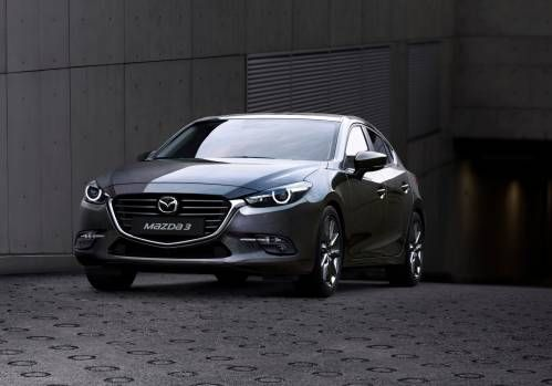 Facelifted 2017 Mazda3 Gets Torque Vectoring, Barely Updated Styling