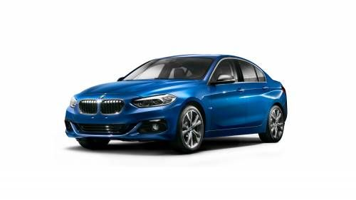 BMW Revealed 1 Series Sedan in China