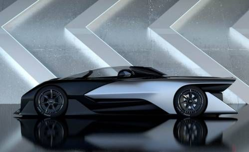 California-Based Faraday Future Reveals First Ever Electric Concept, The FFZero01