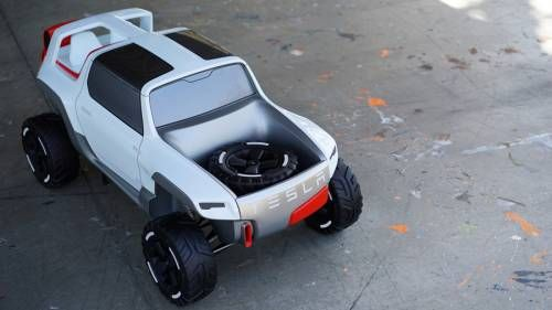 This Tesla Allterrain Offroader Will Take You Places Model X Can't