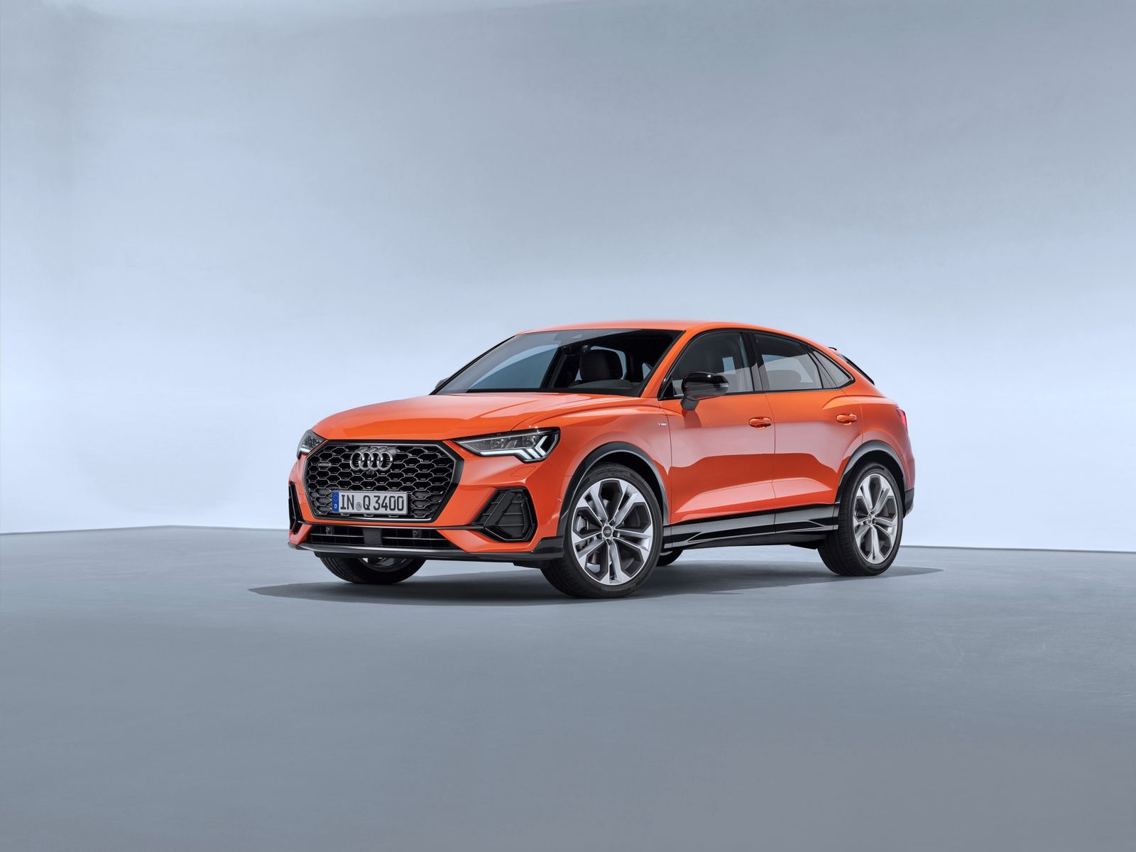 Audi Q3 Sportback is the newest SUV Coupe on the market