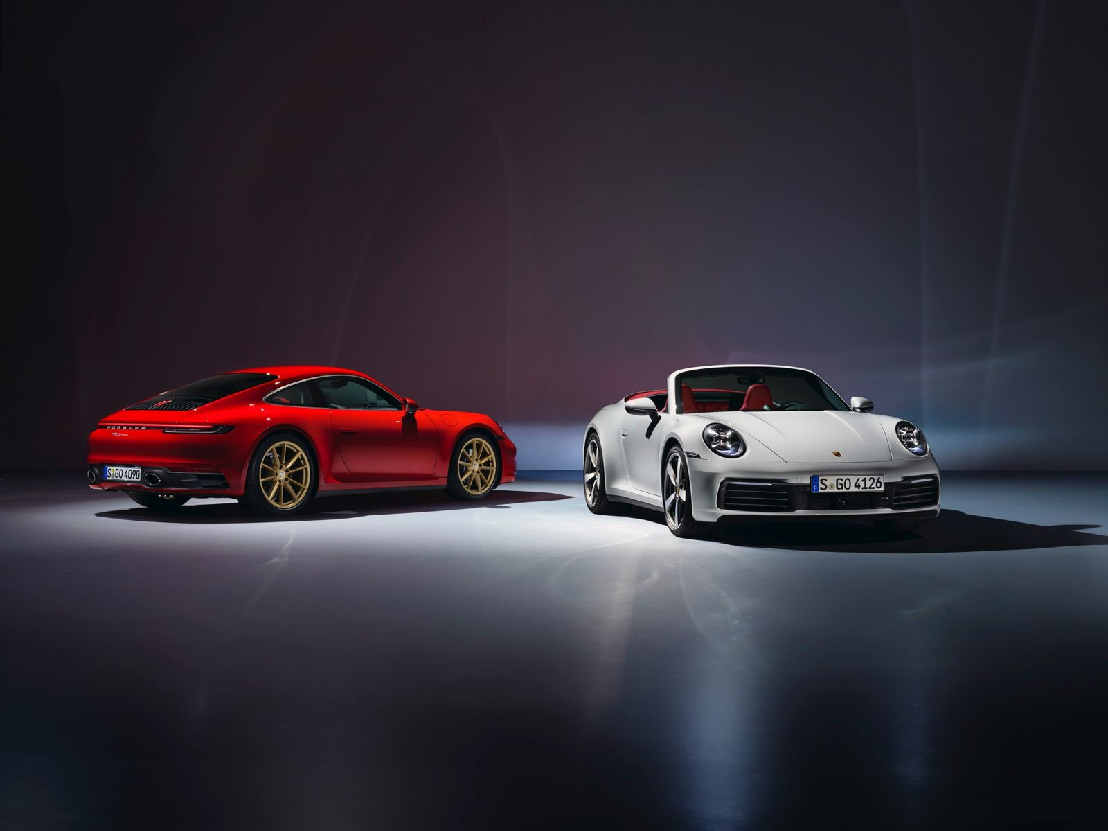 Porsche introduces the new 911 Carrera Coupe and 911 Carrera Cabriolet