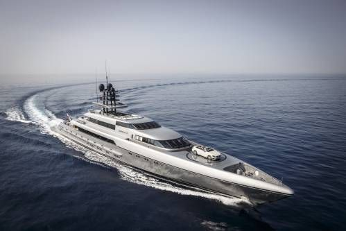 Silveryachts - Silver Fast completed its maiden voyage with a speed record