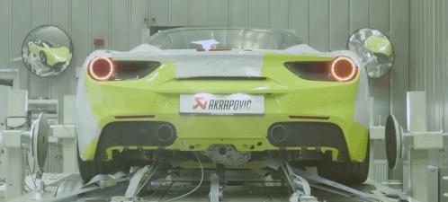 Akrapovic Exhaust Plus Ferrari 488 GTB Equals Eargasm