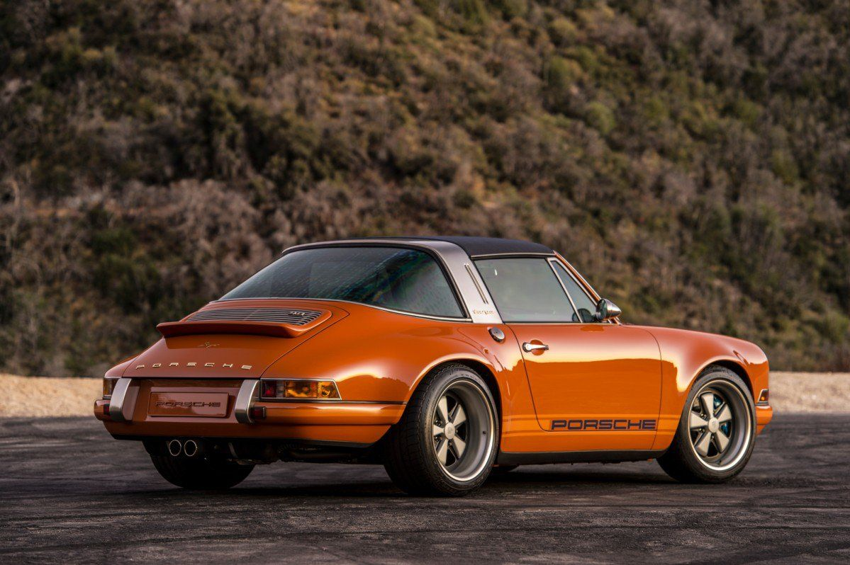 Let Singer Drive You Mad With Artfully Restored Porsche 911 Coupe And