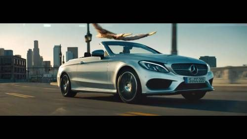 Mercedes-Benz Tells Us To Look Up Again