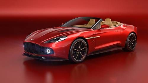 Aston Martin Vanquish Zagato Volante Is What James Bond Would Drive in the Summertime