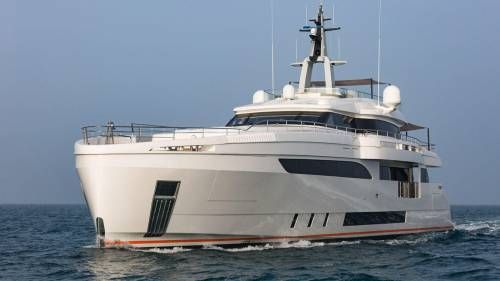 M/Y Genesi, The First Wider 150, is the Quietest Yacht in Its Class