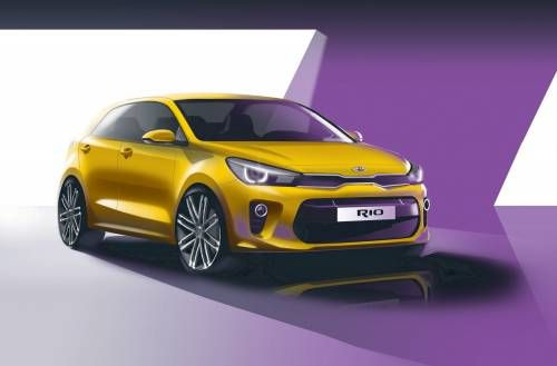 Kia Teases All-New Rio Ahead of Paris Motor Show Debut
