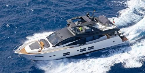 Fourth Astondoa 80 GLX Delivered