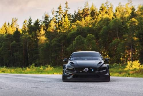 Polestar Shows Off Naked Carbon S60 TC1 Race Car
