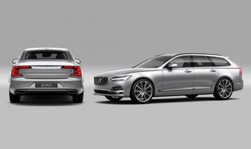 Polestar Improves Volvo S90 and V90 with Performance Optimization Pack