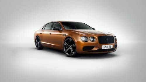 2017 Bentley Flying Spur W12 S Is the Brand's First Sedan to Exceed 200 MPH