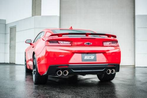Give Your Chevrolet Camaro V6 a New Voice With Borla's Performance Exhaust Gear