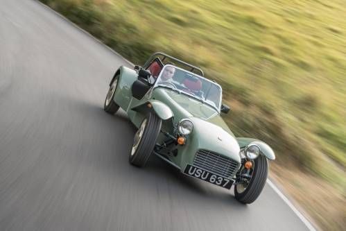 Caterham Unearths Old Seven Sprint Project, Builds It as Limited Edition Model