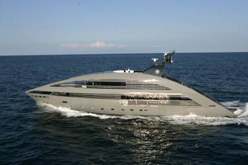 Rodriquez Yachts Built Three Weird Looking Superyachts