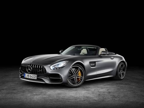 2017 Mercedes-AMG GT Roadster Revealed in Two Flavors With Up to 549 HP