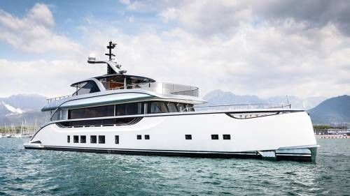 Dynamiq Launches Debut Superyacht