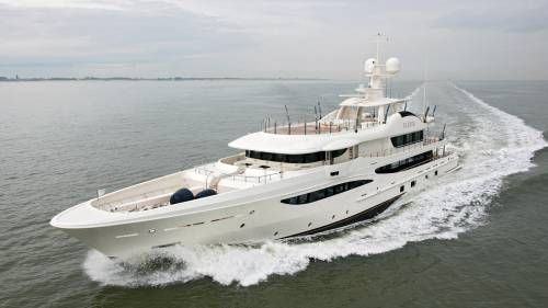 Superyacht Elixir Built by Amels Makes Her Debut at the Monaco Yacht Show