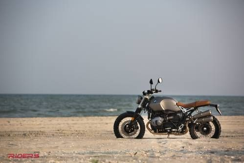 2016 Bmw R nineT Scrambler Test Ride