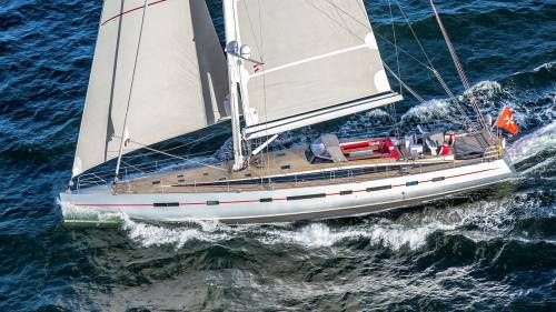 Bellkara Sailing Yacht Delivered by Conrad Shipyard