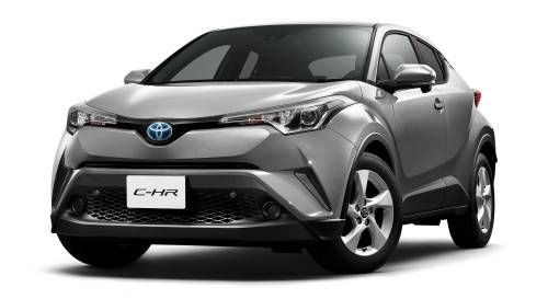 Toyota C-HR Shown in Japanese Specification, Goes on Sale at the End of 2016