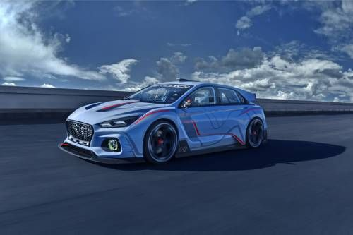 Hyundai Debuts i30 N Concept That Looks Like a Futuristic Touring Car
